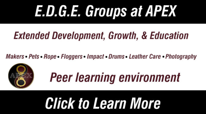 Spring E.D.G.E. Groups at APEX