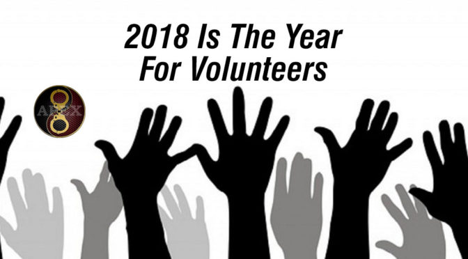 2018 is going to be an amazing year for Volunteering
